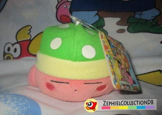 Sleep Kirby Plush Keychain (Anime)