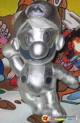 Super Mario 64 Metal Mario Plush
