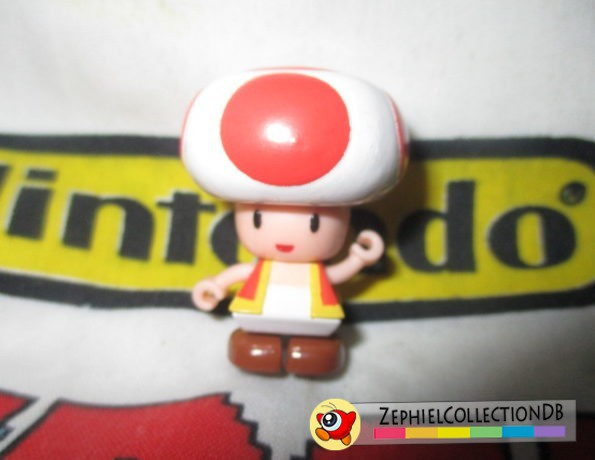 Super Mario Sunshine Red Toad Figure