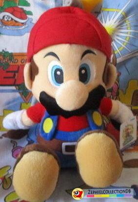 Super Mario Sunshine Mario with Fludd Jumbo Plush