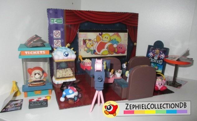 Kirby's Night at the Cinema Mini Figure Set