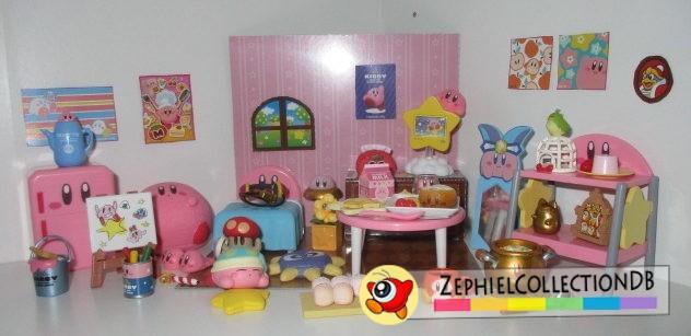 Kirby's Happy Room Mini Figure Set
