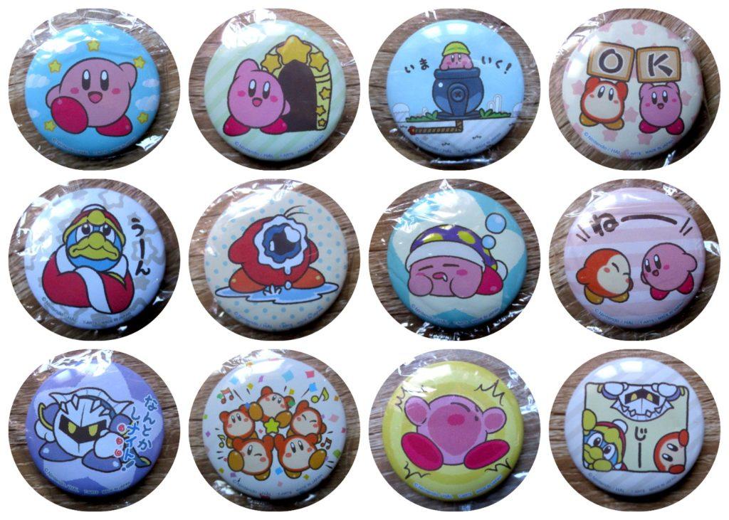 Kirby Yamashiroya Can Badge Complete Set of 12