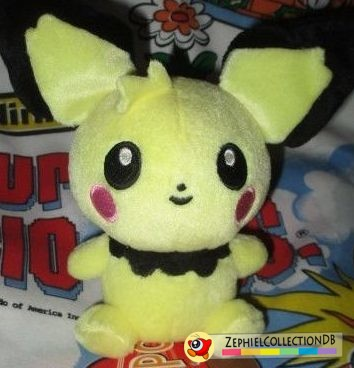 Pokemon Tufty Pichu Plush