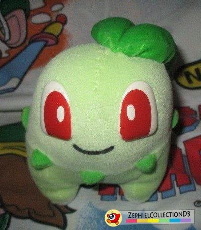Pokemon Chikorita PlushPlush