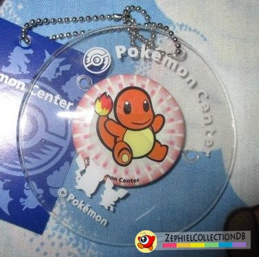 Pokemon Charmander PlushPlush Can Badge