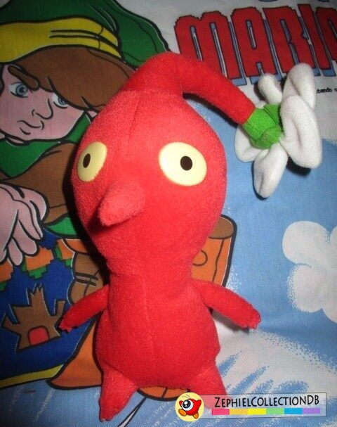 Red Pikmin Plush with Flower