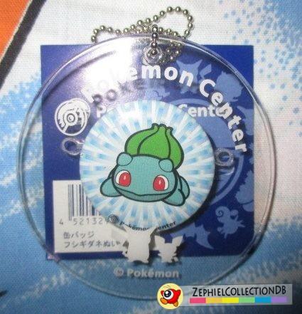 Pokemon Bulbasaur PlushPlush Can Badge