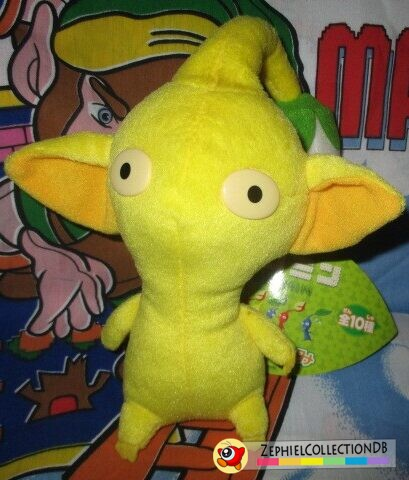 Yellow Pikmin Plush with Bud