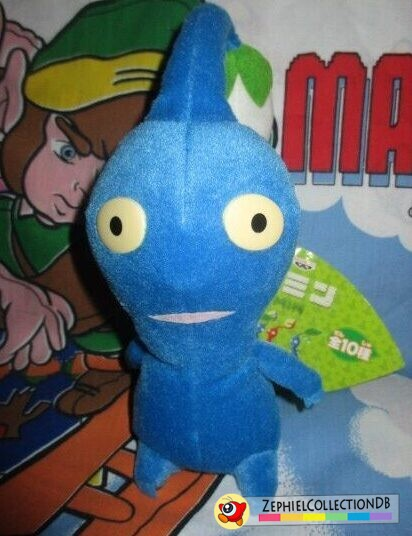 Blue Pikmin Plush with Bud