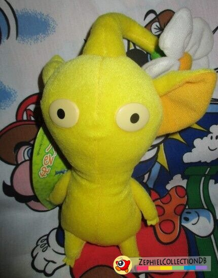Yellow Pikmin Plush with Flower
