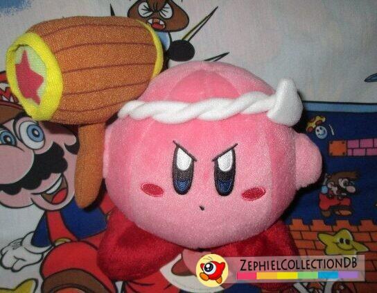 Kirby Hammer Kirby Plush