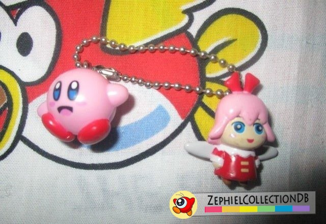Kirby 64 Ribbon and Kirby Keychain