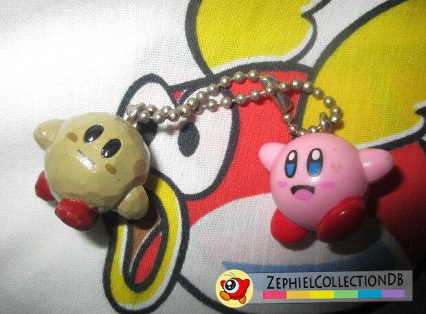 Kirby 64 Stone Kirby and Kirby Keychain