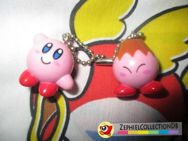 Kirby 64 Kirby and Volcano Kirby Keychain