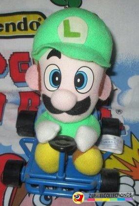 Mario Kart Luigi Plush