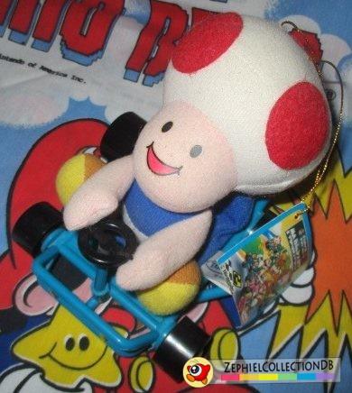 Mario Kart Toad Plush