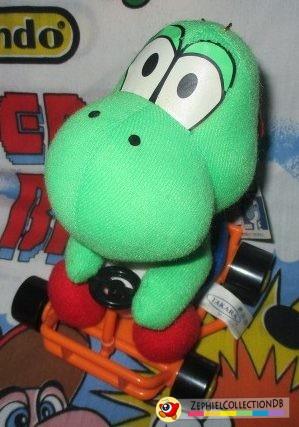 Mario Kart Yoshi Plush