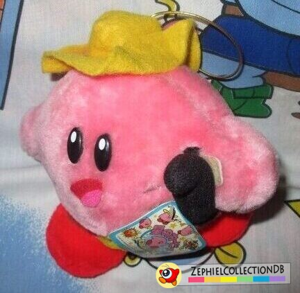 Kirby's Adventure Quick Draw Kirby Plush