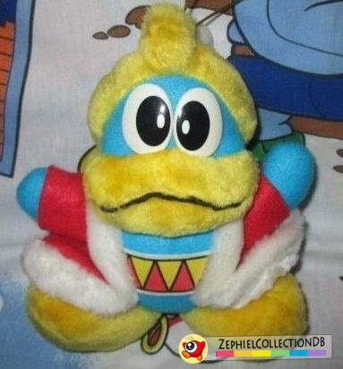 Kirby's Adventure King Dedede Plush