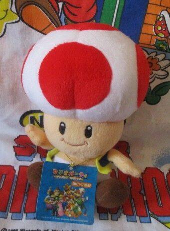 Mario Party 5 Toad Plush