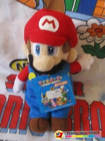 Mario Party 5 Mario Plush