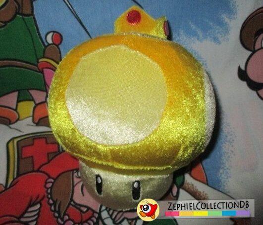 Mario Kart Wii Golden Mushroom Plush