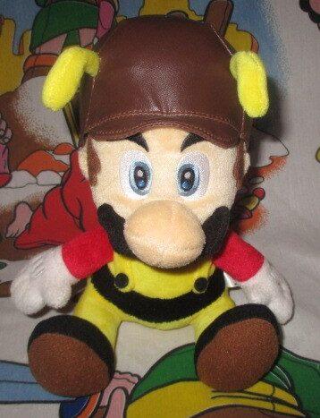 Super Mario Galaxy Bee Mario Plush