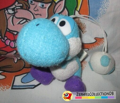 Yoshi's Story Light Blue Yoshi Plush