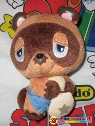 Animal Crossing: Wild World Tom Nook Plush