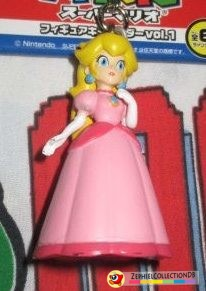 Super Mario Peach Figure Keychain