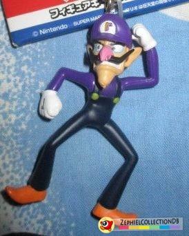 Super Mario Waluigi Figure Keychain