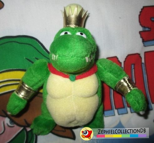 Donkey Kong Country King K. Rool Plush Keychain