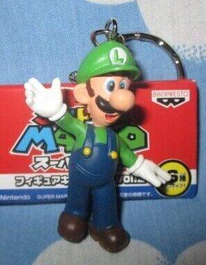 Super Mario Luigi Figure Keychain