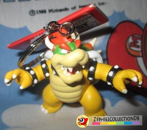Super Mario Bowser Figure Keychain