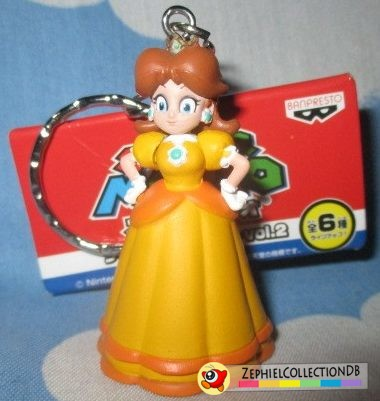 Super Mario Daisy Figure Keychain