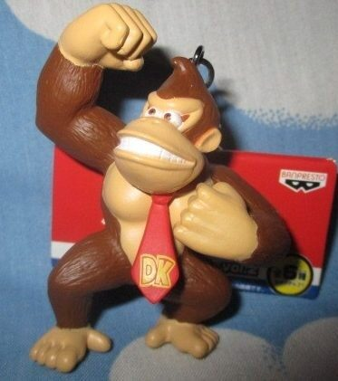 Super Mario Donkey Kong Figure Keychain