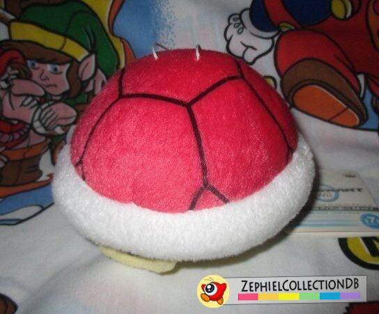 Mario Kart Wii Red Shell Plush