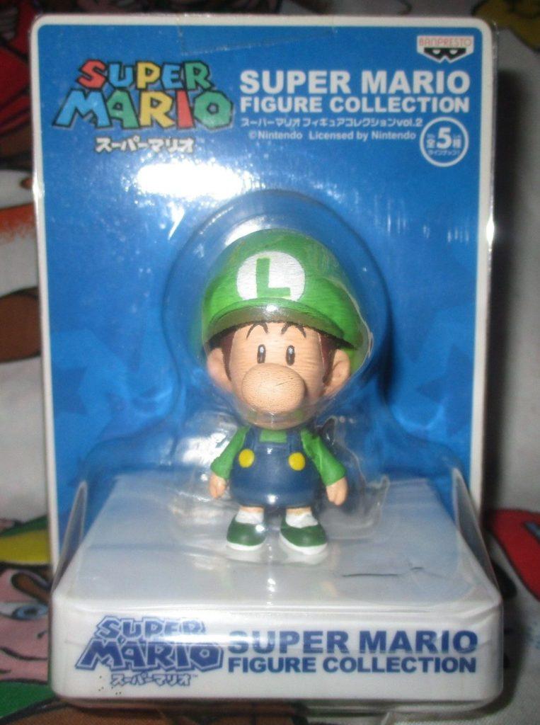 Super Mario Baby Luigi Figure