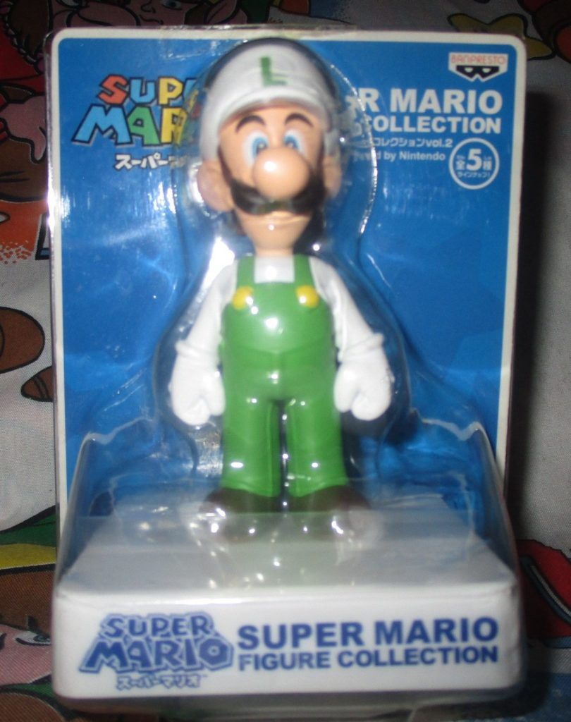 Super Mario Fire Luigi Figure