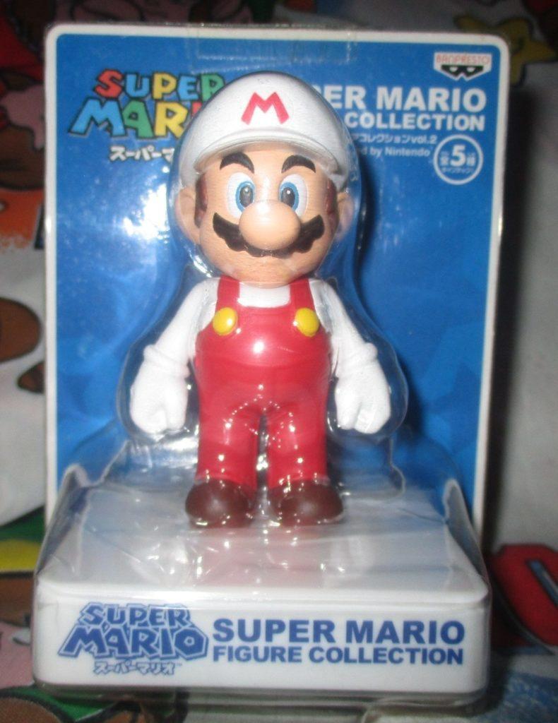 Super Mario Fire Mario Figure