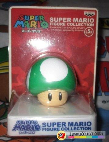 Super Mario 1-Up Mushroom Figure