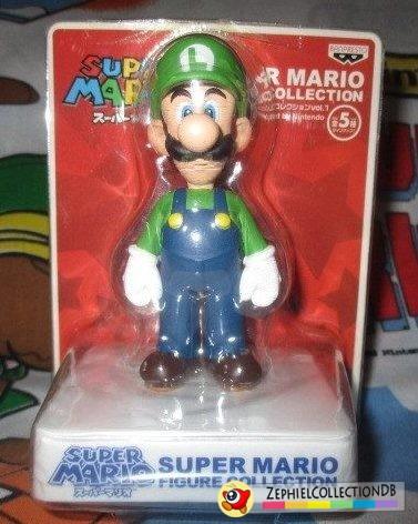 Super Mario Luigi Figure