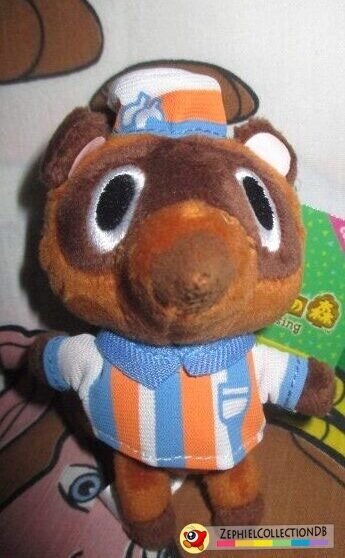 Animal Crossing Timmy/Tommy (Convenience Store) Plush Keychain