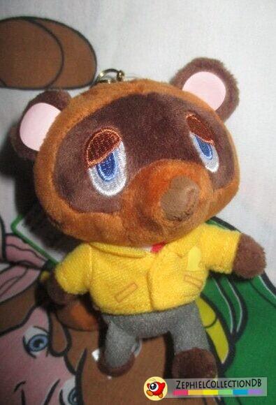 Animal Crossing Tom Nook Plush Keychain