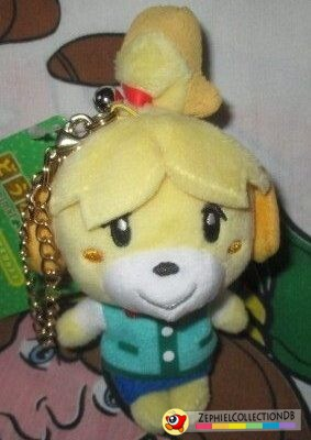 Animal Crossing Isabelle Plush Keychain