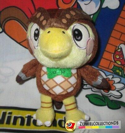 Animal Crossing Ichiban Kuji Blathers Plush Strap