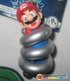 Super Mario Galaxy Spring Mario Figure Keychain