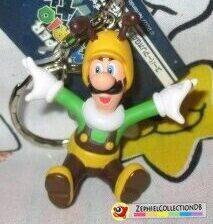 Super Mario Galaxy Bee Luigi Figure Keychain