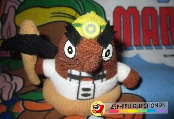 Animal Crossing Mr. Resetti Plush Keychain (2001)